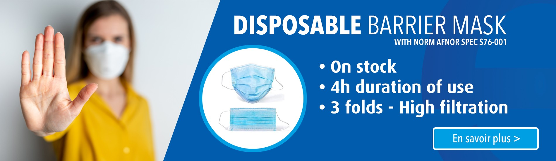 Disposable Barrier Mask